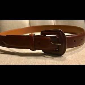Brahmin leather belt